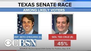 Can Beto O'Rourke upset Senator Ted Cruz in Texas?