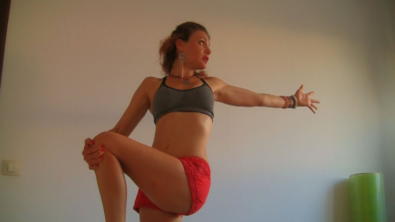 Vinyasa Yoga For Weight Loss And Water Retention Belly Fat Digestion PMS Menstrual Cramps