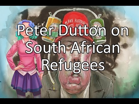 Australia taking refugees from South Africa?