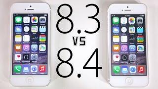 iOS 8.3 VS iOS 8.4 - Performance & WiFi Speed Test Comparison