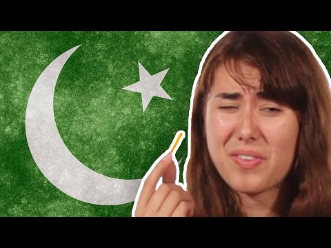 Americans Try Pakistani Snacks For The First Time