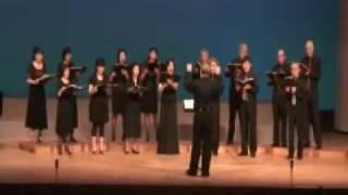 中高年の合唱団が、Nコンの課題曲の「手紙 ~拝啓 十五の君へ~」を歌い...