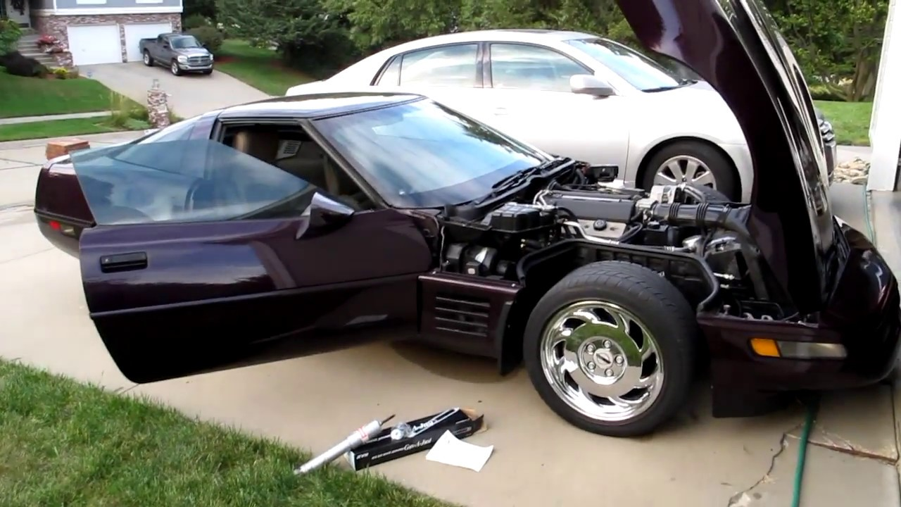 Shock replacement and ride quality in 1992 c4 Corvette