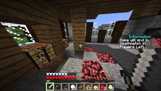 Minecraft: HUNGER GAMES Bane Of Anthropods Win
