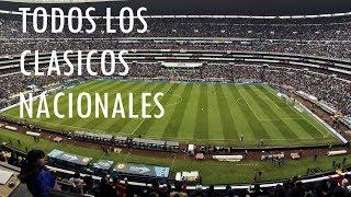 Todos los Clasicos Nacionales en Torneos Cortos (1996-2018)