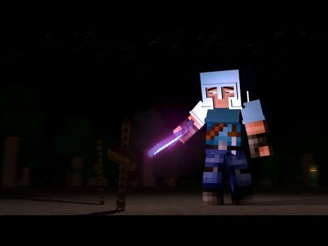 """♪ """"Little Square Face"""" Minecraft Animation (Music Video) Minecraft Song"""