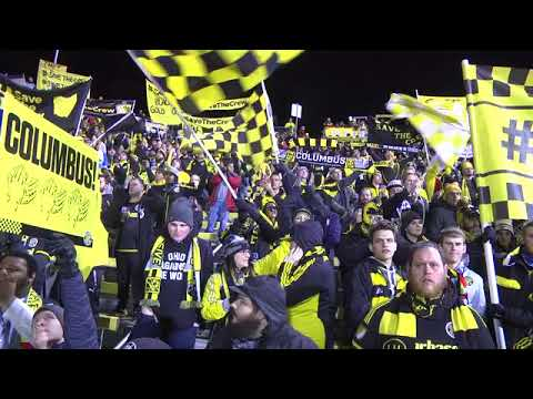 Columbus Crew fans packed the parking lots around their stadium Tuesday night before the playoff gam