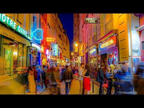 A Walk Through The Latin Quarter, Paris