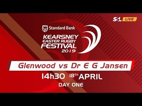 Glenwood High vs Dr E.G. Jansen - Kearsney Easter Rugby Fest 2019