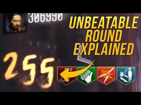 The Zombies Round That Is Impossible To Beat | BO3 Zombies Round 255 Glitch Explained