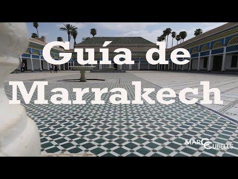 QUÉ VER Y HACER EN MARRAKECH   Free tour   Marc Cubells en Marruecos