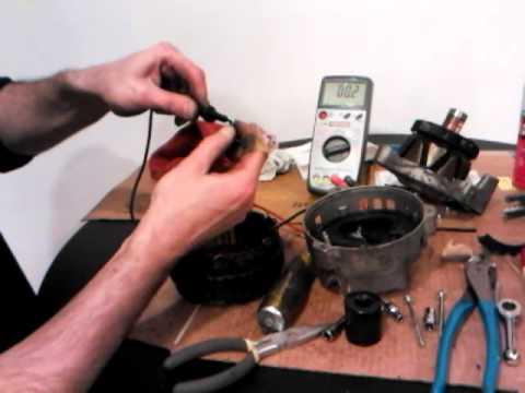 CAR ALTERNATORS - How they work / rebuild / fix / repair