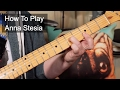 watch he video of 'Anna Stesia' Prince Guitar Lesson
