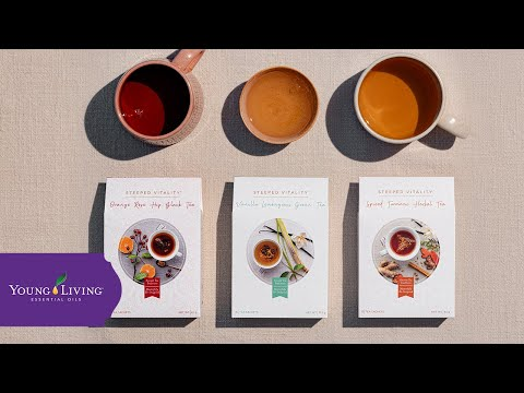 Introducing Steeped Teas