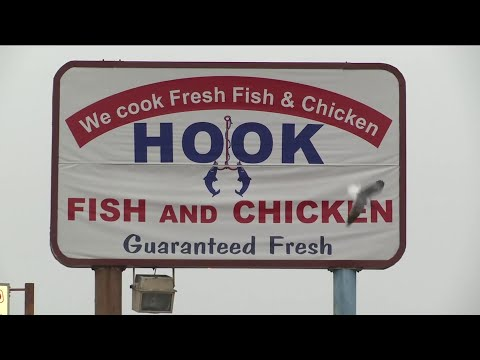 Shooting At Hook Fish And Chicken