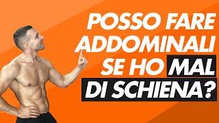 In questo video vediamo se fare addominali hai mal di schiena.accedi immediatamente ai miei contenuti gratuiti sul mio sito ➡️ https://www.umbertomiletto....