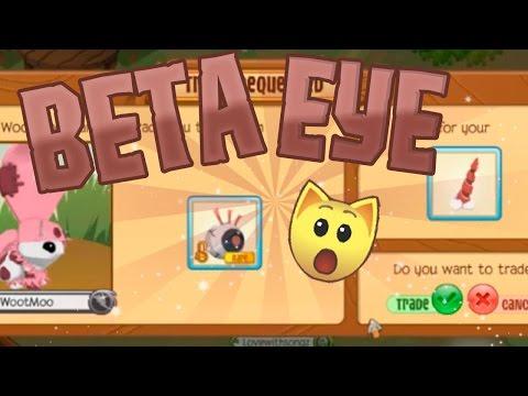 WootMoo Trades me a BETA EYE! MY REACTION | Animal Jam