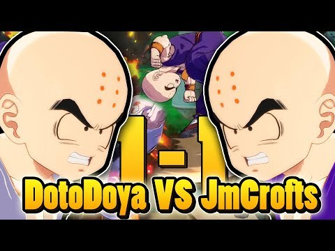 Dotodoya VS jmcrofts REMATCH! THE TIEBREAKER SET! | Dragonball FighterZ