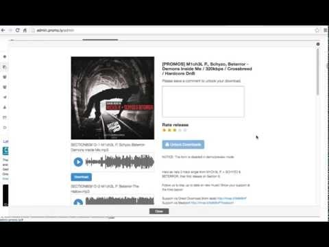 How to send WAV/AIFF/MP3 via email [promo.ly]