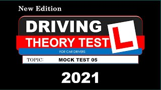 Uk driving theory practice test 2021, revision, handbook test no 5 screenshot 1