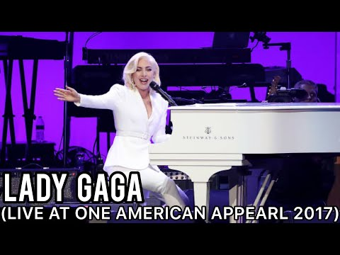 Lady Gaga  Million Reasons, Yoü And I, The Edge Of Glory  at One American Appearl 2017
