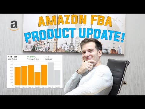 How to Turn 2K a month into $10,000 Amazon FBA Product Research (SALES UPDATE)