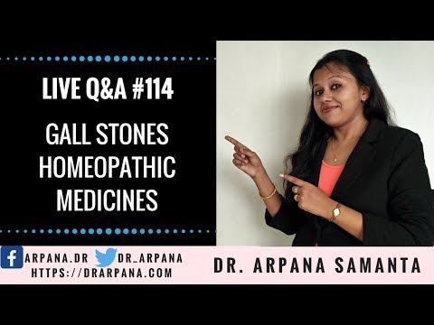 GALL STONES - Homeopathic Medicines || Free Homeopathic Live Clinic #114