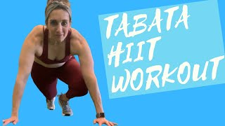 Tabata HIIT Workout | Body Weight Only