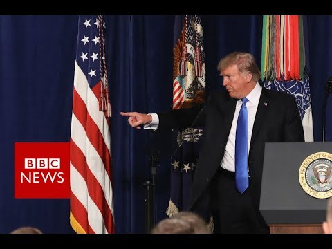 Trump has committed to stepping up the US military's engagement in Afghanistan - BBC News