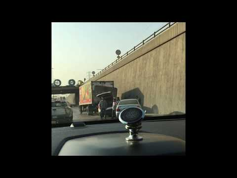 Horrible Accident in 2nd Industrial Area Riyadh (حادث في المنطقة الصناعية الثانية الرياض)