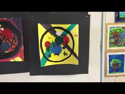 Catholic Art Show Viewing (Piqua Catholic)