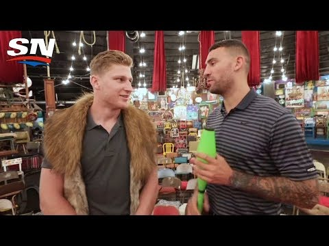 Juggling With Nathan MacKinnon in Vegas | Biznasty 2.0