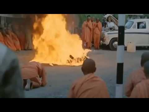 Vietnamese Buddhist Monk Self Immolation