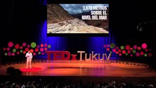 La sal ancestral de los incas debajo de una montaña | Francesco Canchari | TEDxTukuy