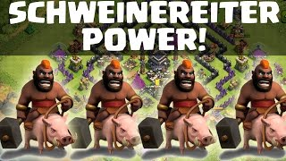 SCHWEINEREITER POWER FARMING! || CLASH OF CLANS || Let's Play COC [Deutsch/German HD]