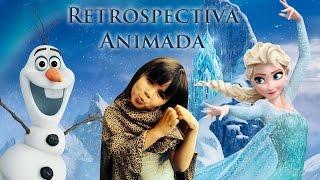 Retrospectiva Animada Frozen - Manuela 5 anos