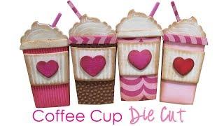 Mini Coffee Cup - Die Cut - Fun Foam Craft
