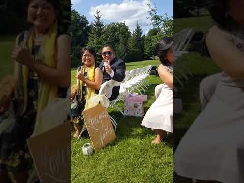 Ygan Hagong and Gladys Santiago's wedding