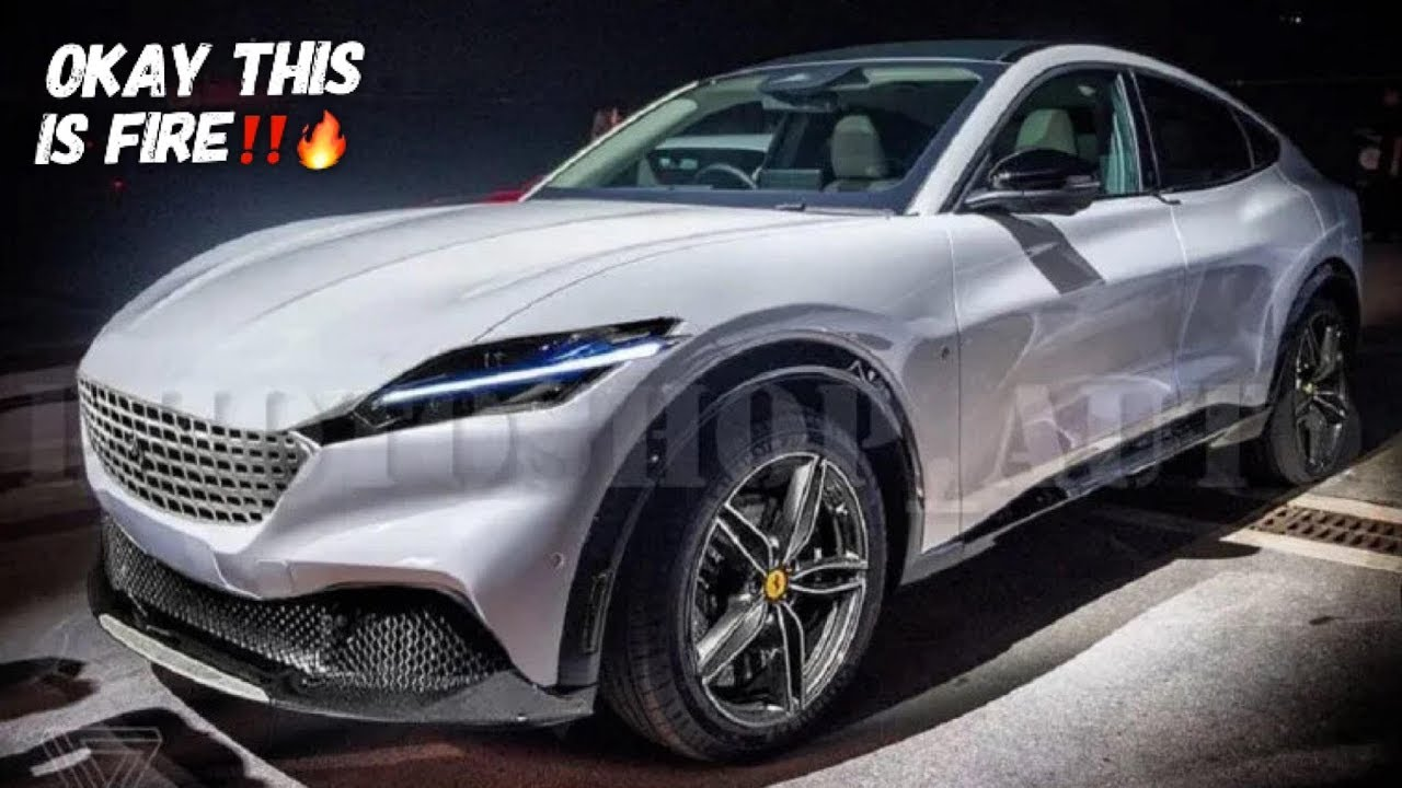 The New Ferrari Purosangue Suv Looks Incredible Like This Youtube