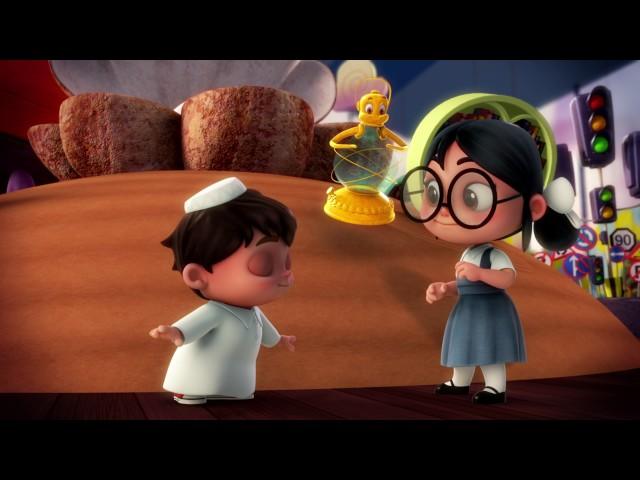 كارتون سراج - الحلقة الثلاثون (الأخيرة) | (Siraj Cartoon - Episode 30 (Arabic Letters