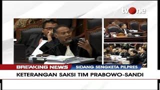 [FULL] BREAKING NEWS | Sidang Sengketa Pilpres 2019 - Keterangan Saksi Dari BPN (Part 2)