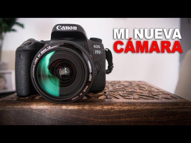 Mi nueva cámara - Canon EOS 77D