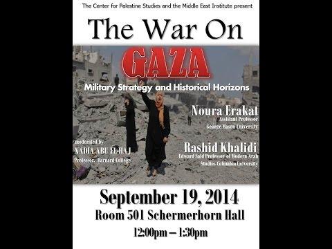 THE WAR ON GAZA   Noura Erakat