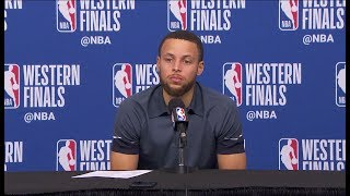 Stephen Curry Postgame Interview - Game 1 | Rockets vs Warriors | May 14, 2018 | 2018 NBA Playoffs