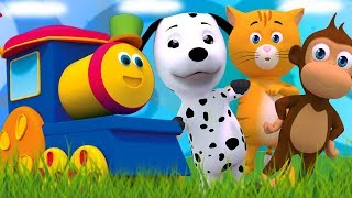 Боб Поезд   Мы идем Песня   потешки для детей   Боб поезд песни   We go Song   Rhymes For Kids