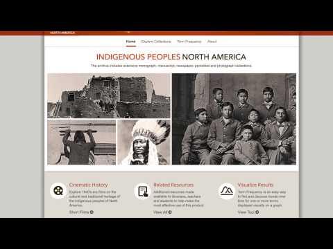 Behind the Screens:  Indigenous Peoples: North America