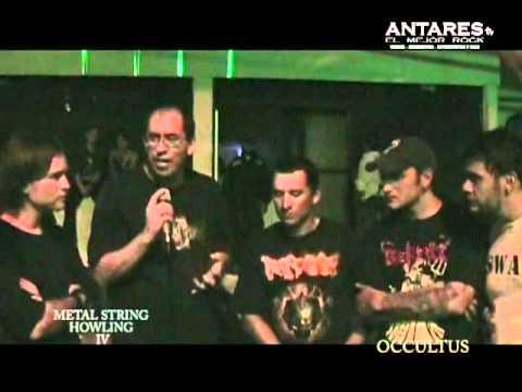 Entrevista Occultus - Metal String Howling IV. Antares El Mejor Rock