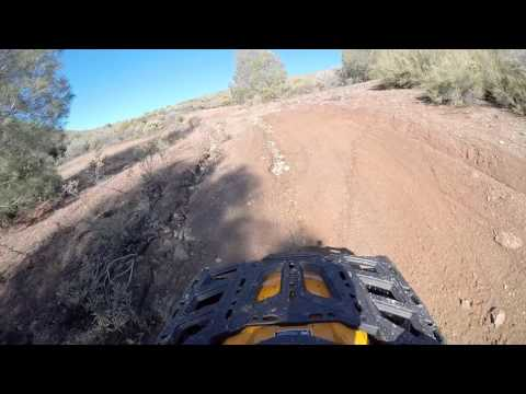 Breaking in the new 2016 Canam Outlander 1000 XT-P