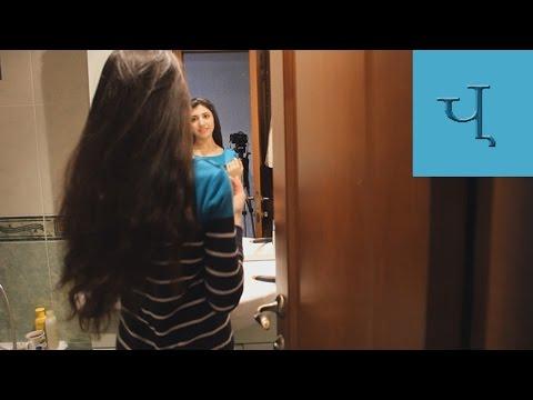 Как интересно накрутить волосы с помощью… футболки