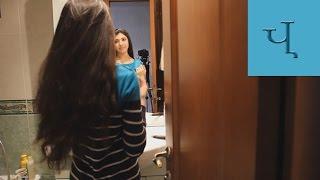Смотреть видео  если волосы пушатся после помывки